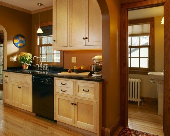 Kitchen Color Ideas With Maple Cabinets 29 best imagining black doors on maple cabs images on pinterest