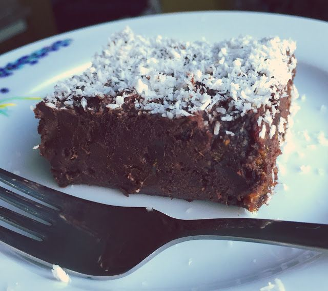 recepty na každý deň: RAW kokosový brownie
