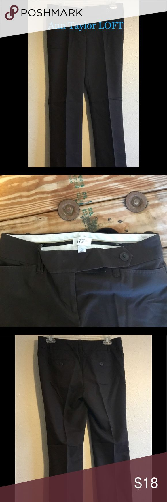 Anne Taylor loft Work or Dress Pants SZ 2 Ann Taylor LOFT Dress or work pants size 2 in Good condition! Please feel free to check out my other items and I offer bundle pricing! #Discount #Bundle #Cheap #Gift #Deal #Gift #Kotas Will offer free card and wrapping, if sent as gift! Please include occasion and special message. LOFT Pants
