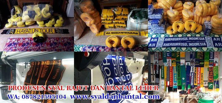 Tempat Vendor Produsen/Pengrajin Jasa Pembuatan Produksi Syal Rajut dan Bantal Leher. - Cara Order