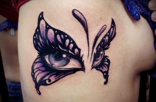 101 Schmetterlings-Tattoos für ein großes Lächeln auf Ihrem Gesicht