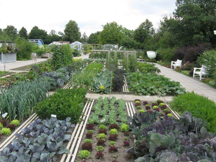Kitchen potager garden | Gemüsegarten-Weihenstephan