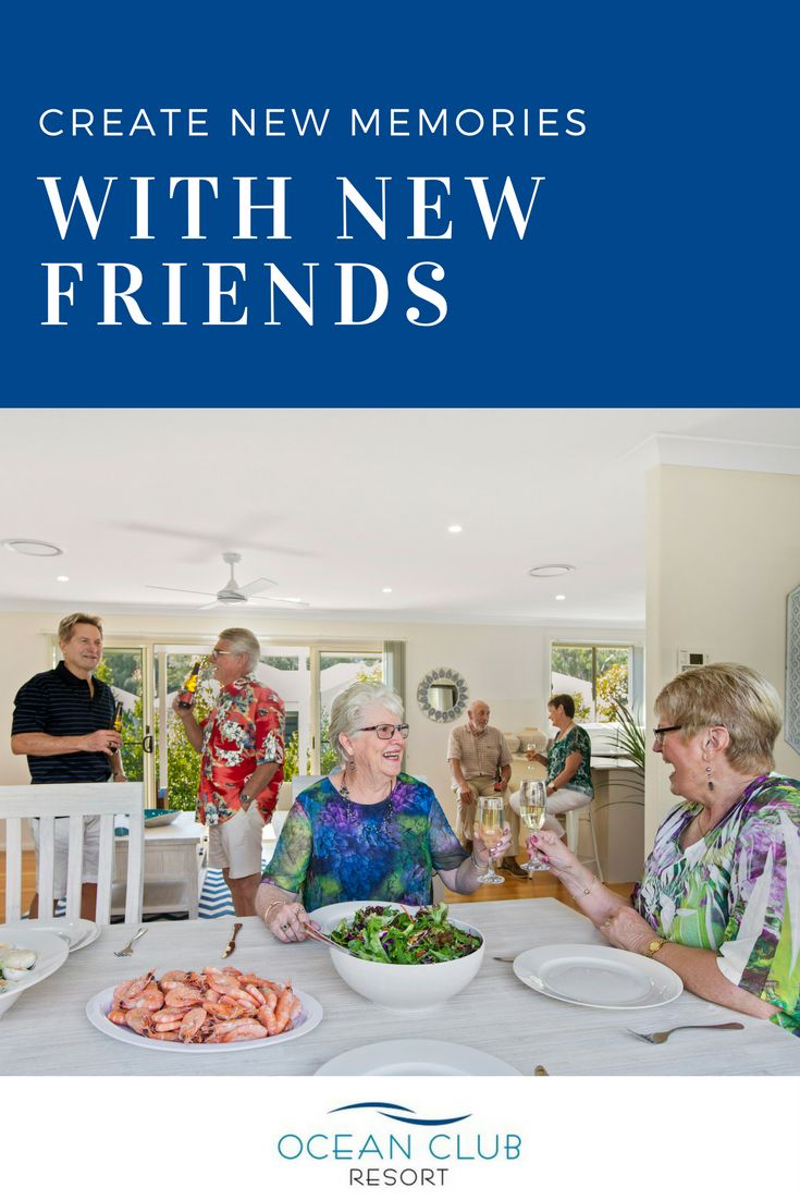 Enjoy entertaining new friends in your new home at Ocean Club Resort! Your only regret will be not doing it sooner.   #atOCR #OceanClubNSW #OceanClubResort #PortMacquarie #Retirement #RetiredLiving #MidNorthCoast #Australia #LowMaintenance #Luxury #FiveStar #Affordable #NewHome #Lifestyle #Over50s #GatedCommunity #Seachange #Retired #Retiring #GreyNomads #Caravan #Downsize #BabyBoomers #Home #Property #RetirementLiving