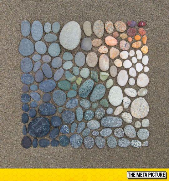 Beach Rocks Gradient