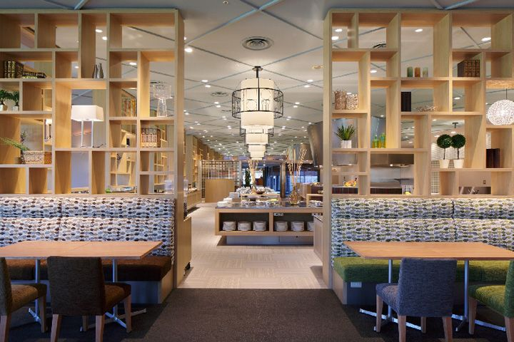 Serina buffet restaurant by Fan Design Label, Narita - Japan