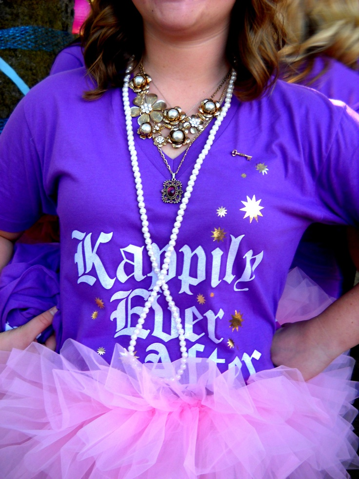 """""""Kappily ever after"""" Kappa Kappa Gamma recruitment tee idea. How about Gammaly ever after instead?!"""