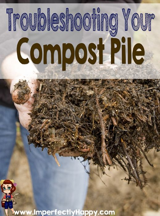 Troubleshooting Your Compost - get black gold in no time at all! | ImperfectlyHappy.com: