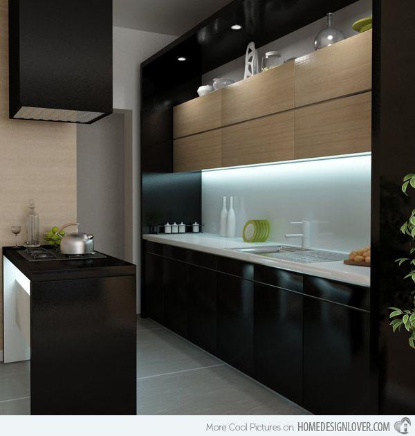 56 best cocinas images on Pinterest | Kitchens, Contemporary unit ...