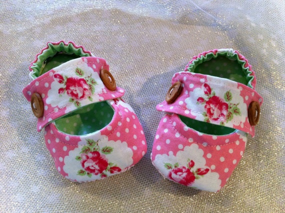 Baby Kathryn pumps All 100  cotton fully lined Cath by BubBoots, $24.95