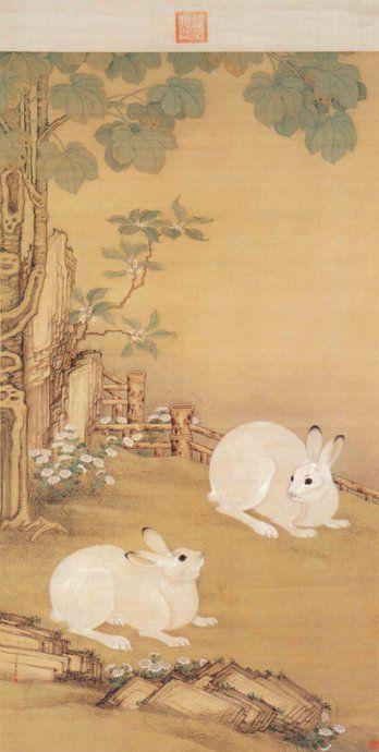 清代著名宮廷畫家冷枚-作品赏析 - 美女画家 - 书画艺术欣赏