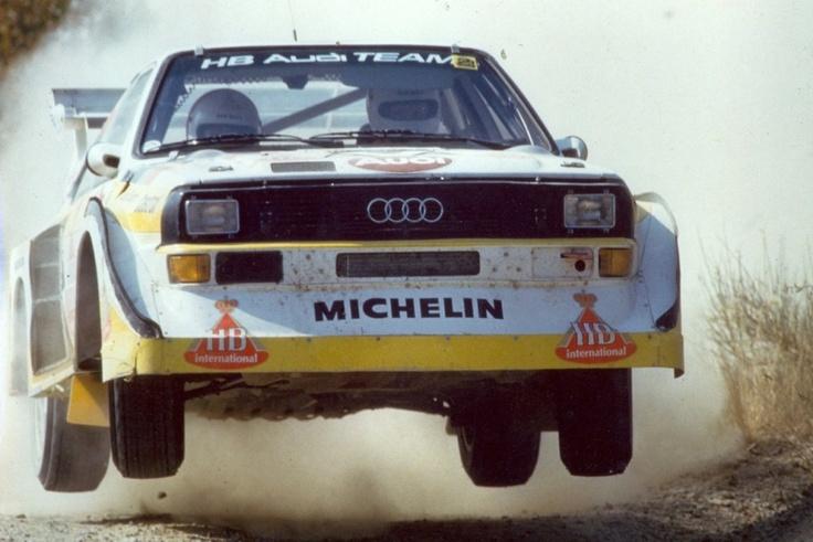Audi Rally Car