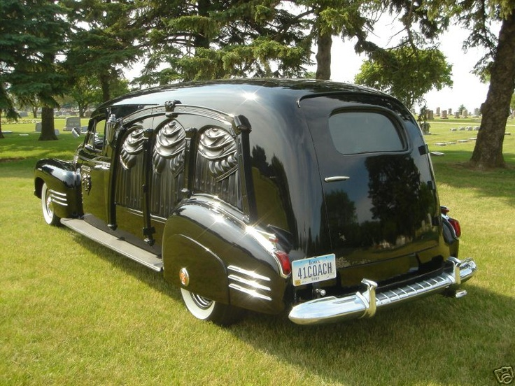 1941 Cadillac Eureka Hearse