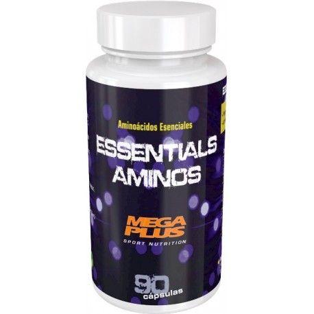 #ESSENTIALS AMINOS 90 Cápsulas,Los #aminoácidos esenciales son aquellos que nuestro organismo no es capaz de sintetizar y deben aportarse a través de la dieta. ESSENTIALS AMINOS asegura un aporte equilibrados de todos los aminoácidos esenciales Beneficios: UNA RÁPIDA RECUPERACIÓN MUSCULAR UNA MEJORA DEL #RENDIMIENTO Y UN AUMENTO DEL VOLUMEN MUSCULAR.11,70€. todastuscompras.com