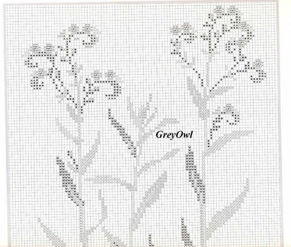Надыбала очередной шедевр примитивизма -- гербарий от Бахман. Лаконично и в то же время не слишком просто -- вышивать од но удовольствие. У...