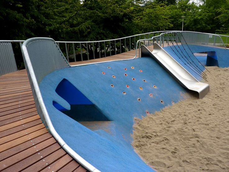 Melis Stokepark playground, The Hague, NL by Carve. Click image for full profile & visit the slowottawa.ca boards >> http://www.pinterest.com/slowottawa/boards/