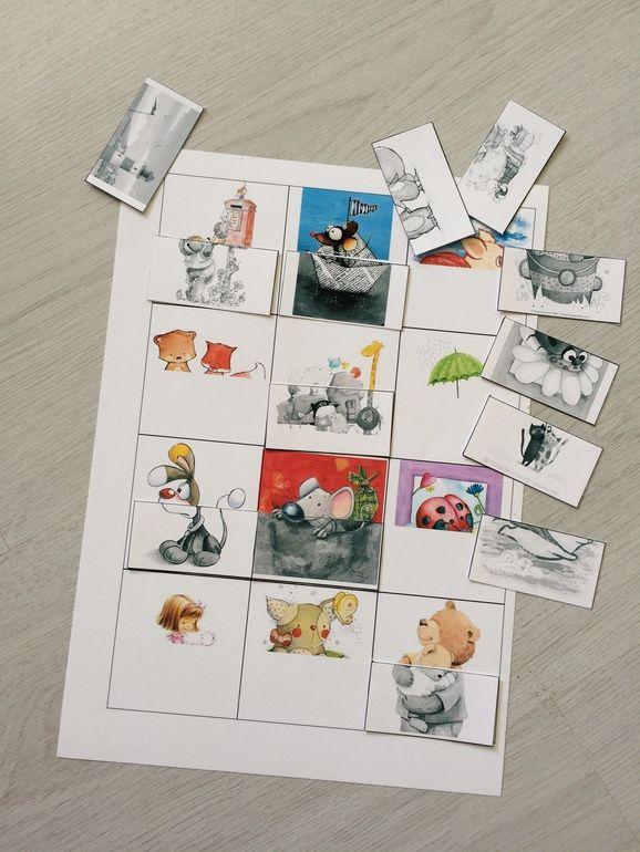 Необычное лото-пазл - Занятия для раннего развития детей RightBrain.Training