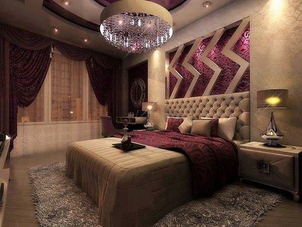 17 best ideas about tan bedroom on pinterest tan bedroom for Deep purple bedroom ideas