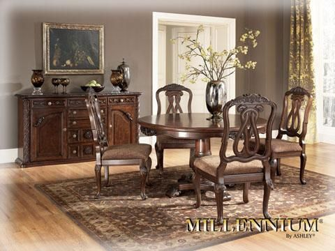 North Shore Dining Uph Side Chair Round Dining Room Sets