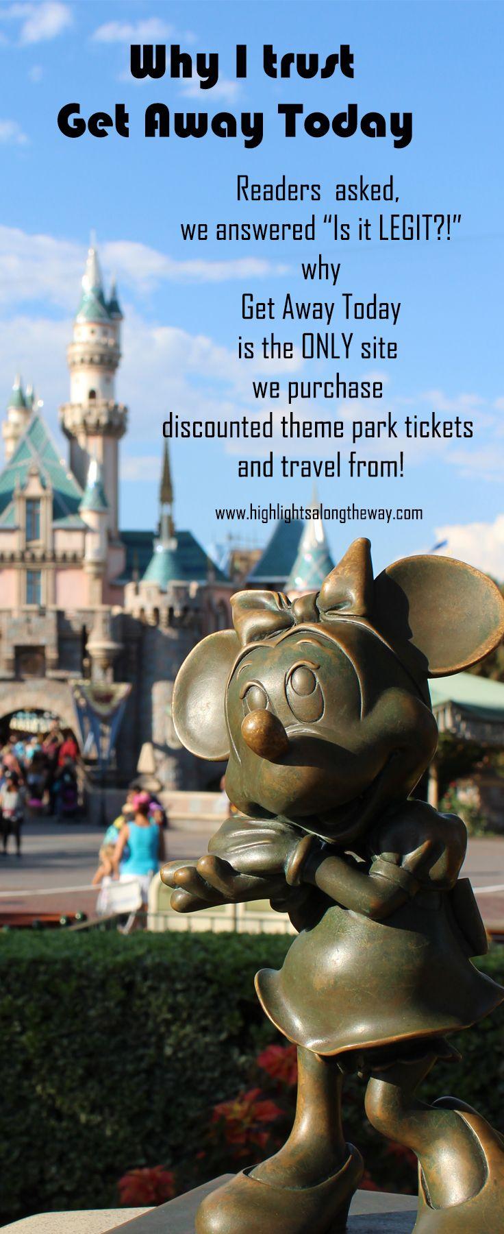 is get away today legit for discounted disneyland tickets? #disneyland #familytravel