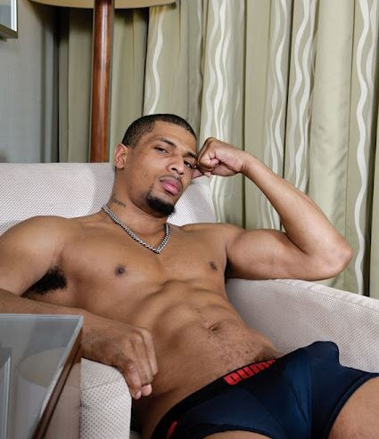 black gay body