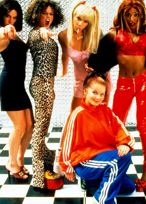 One of the film's most impressive scenes happens when each of the Spice Girls parody each other.