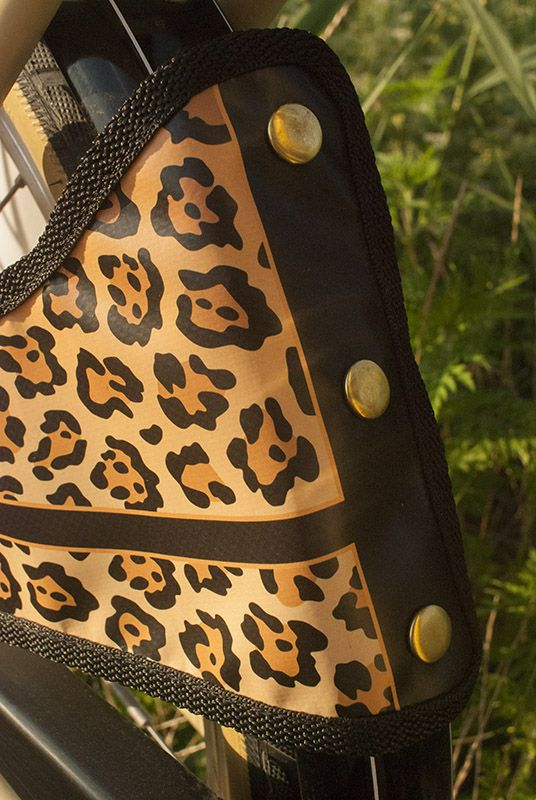 Millflorell Leopard skirt and coat guard