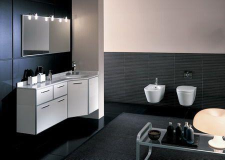 Specchio e luci bathroom pinterest for Arredamenti ufficio roma