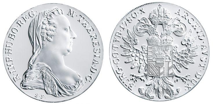 Marie Terezie - česká královna uctěná stříbrným tolarem