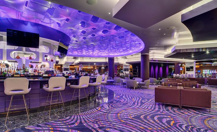 MGM Grand Detroit, Custom Ceiling Feature with Kaynemaile architectural mesh