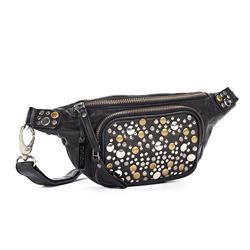 DEPECHE bæltetaske/belt bag vintage - style B10020 - black