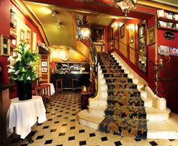 """Oldest Cafe in Paris  """"Procope""""  13 RUE DE L'ANCIENNE COMÉDIE  75006 PARIS  TÉL. : 01 40 46 79 00"""