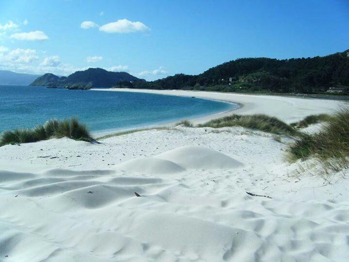 Spain, Galicia, Islas cies