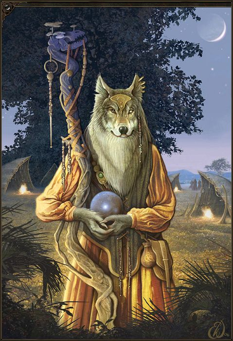 Wolf Shaman - Eric Williams