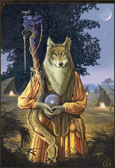 Wolf Shaman - Eric Williams