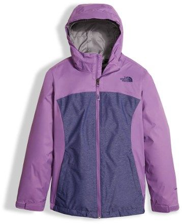 The North Face Girl's Osolita Triclimate 3-in-1 Jacket Bellflower Purple XL (18 - 20)