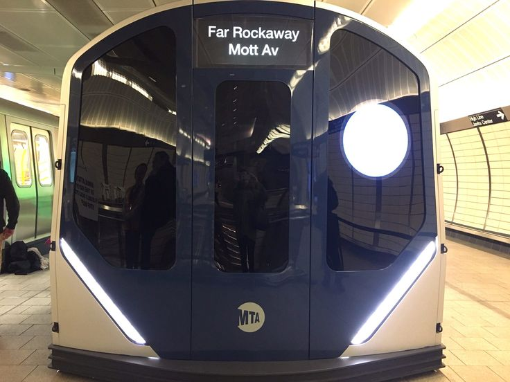 The Metropolitan Transportation Authority unveiled its newest class of subway cars during an open house at the Hudson Yards station on Thursday, allowing the public to tour the sleek trains and provide feedback to officials.