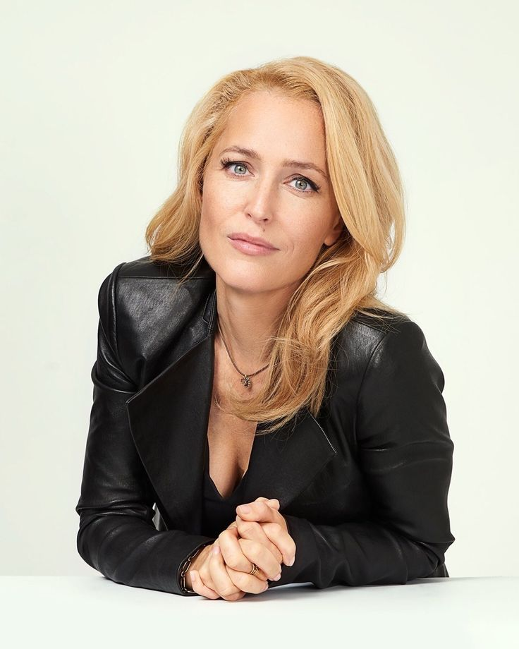 """stellxgibson: """" Gillian Anderson Photo: Dylan Coulter/Vulture """""""