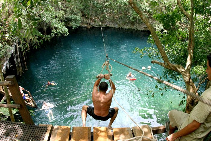 Secluded cenote outside CancunCancun Mexico, Buckets Lists, Back Yards, Cenote, Places, Riviera Maya, Swimming Hole, Backyards, Travel Buckets