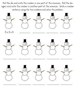math worksheet : 19 best winter worksheets images on pinterest  teaching ideas  : Christmas Math Worksheets For First Grade