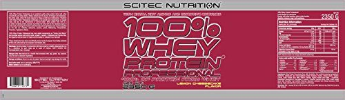 awesome Scitec Nutrition Lemon Cheesecake 100% Whey Protein Professional 2350g