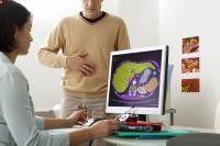 Gastritis crónica.-La gastritis crónica consiste en una inflamación crónica de la mucosa del estómago que afecta inicialmente a áreas superficiales y glandulares de la mucosa, progresando a la destrucción glandular (atrofia) y metaplasia (el término metaplasia intestinal indica la conversión de las glándulas del estómago en otras parecidas a las del intestino delgado). De esta forma, la gastritis superficial se acaba transformando en gastritis atrófica.