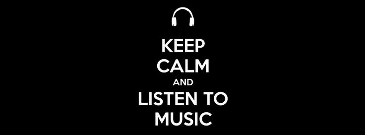 Listen To Music Fb Covers Cover Photos Cover Keep Calm
