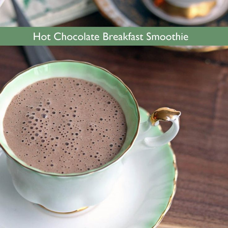 Hot Chocolate Breakfast Smoothie