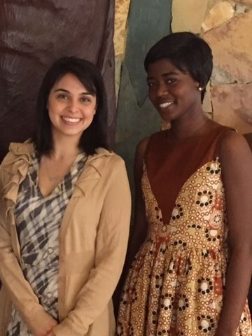 Our IDP Rising Schools Program Associate Jenna (left) was pleased to meet Anna Amegatcher (right) during their latest trip to Ghana. Anna is an example of a leader who came out of Ashesi University who is now working at Growth Mosaic to help social enterprises reach their full potential.