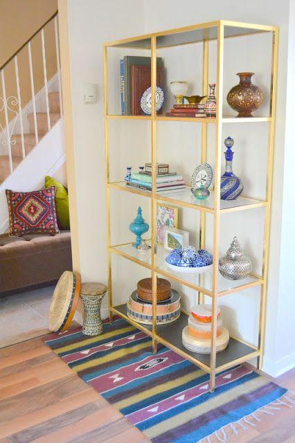 honey sweet home diy brass etagere gold leafed ikea vittsjo hack it 39 s all in the details. Black Bedroom Furniture Sets. Home Design Ideas