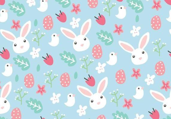 Floral Easter Background Easter Backgrounds Easter Wallpaper Easter Illustration
