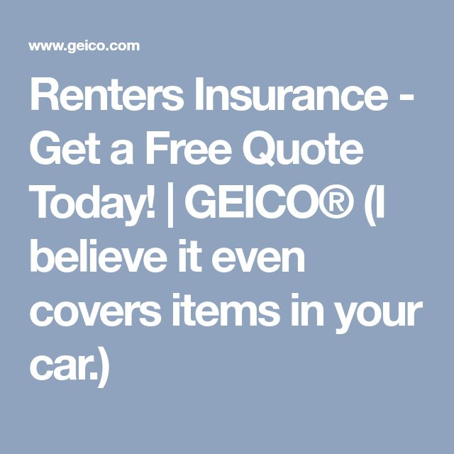 Geico Quote: Best 25+ Renters Insurance Ideas On Pinterest