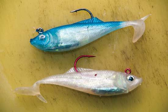 117 best fishing weighted hooks spoons jigs and lead for Fly fishing lures for bass