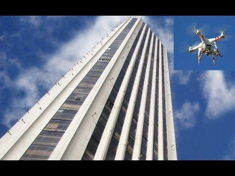 Dron graba la torre Colpatria - Bogotá - Colombia- Centro de Bogotá