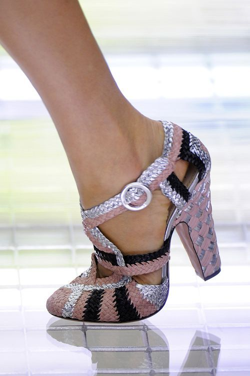 As a general rule, I find Prada shoes to be hit and miss.  These definitely qualify as a hit!  So cute.